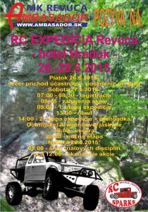 Plagát RC EXPE Hrádok